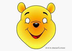 Winnie the Pooh Free Printable Mask.