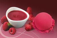 Raspberry Sorbet - Erfrischend intensiv und fruchtig: köstliches Sorbet aus frischen, perfekt gereiften Himbeeren.