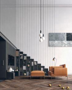 Duplex #Apartment by Yan Baev #designandlive