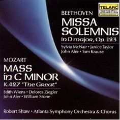"""Beethoven: Missa Solemnis in D major, Op. 123; Mozart: Mass in C minor, K. 427 """"The Great"""" (Audio CD)  http://www.picter.org/?p=B000003CUF"""