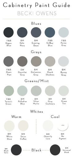 Some similar palette choices from Farrow and Ball.