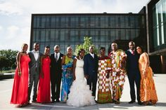 Multicultural Canadian Wedding by Samantha Clarke Photography: Diane and Kwaku