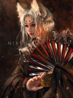 Fantasy Art Women, Beautiful Fantasy Art, Dark Fantasy Art, Fantasy Girl, Fantasy Artwork, Female Character Design, Character Art, Arte Aries, Elfa