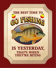 Bass parking sign wall plaque weatherproof gifts fishing for Best time to go bass fishing