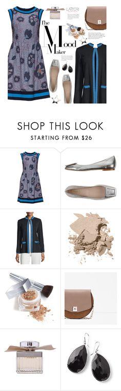 """Lattori Designer Dresses Street Style"" by beebeely-look ❤ liked on Polyvore featuring Lattori, Bagatt, Ming Wang, Bobbi Brown Cosmetics, Christian Dior, Zara, Chloé, Ippolita, dress and dresses"