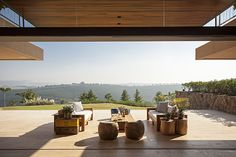 Spacious Residence Harmonized With Nature Through a Large Veranda