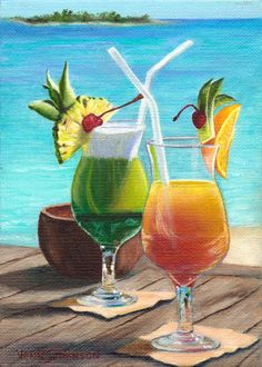 Margarita time be transported to the tropics and enjoy for Paint and cocktails