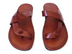 SALE New Leather Sandals ODELYA Women's Shoes by Sandalimshop