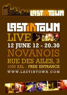 Last in Town in live at the Novanois Café !