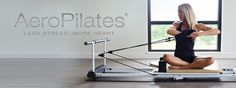 AeroPilates enhances the traditional Pilates reformer to increase strength and flexibility while providing a cardiovascular workout. Aeropilates Reformer, Pilates Workout Videos, Pilates At Home, Barre, No Equipment Workout, Stress, Exercise, Yoga, Gym