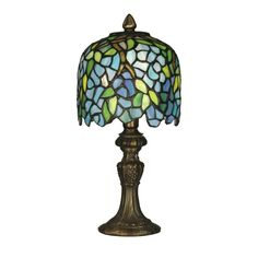 Shop Dale Tiffany  TA10319 Wisteria Accent Table Lamp, Antique Brass  at ATG Stores. Browse our table lamps, all with free shipping and best price guaranteed.