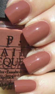 OPI Classics: Chocolate Moose. Would buy it just for the name