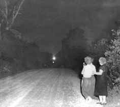 "Known variously as the Ozark Spook Light, the Hornet Ghost Light, the Joplin Ghost Light, the Devil's Jack-O'-Lantern, and the Tri-State Spook Light it is, like the many other ""will-o-wisps"" lights, a mysterious glowing orb that has appeared regularly on this back road since approximately 1881, though some say it has been spotted by natives long before then."
