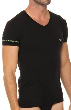 Emporio Armani V-Neck Tee 110810S - Emporio Armani T-Shirts Athletic  Underwear, 722265794335