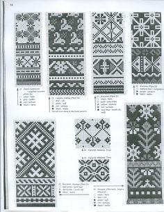 View album on Yandex. Knitted Mittens Pattern, Knit Mittens, Knitting Socks, Loom Knitting, Knitting Charts, Knitting Stitches, Knitting Patterns Free, Fair Isle Chart, Inkle Loom