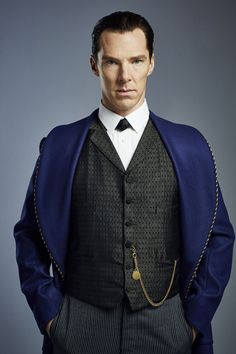 SHERLOCK (BBC) ~ Benedict Cumberbatch as Sherlock Holmes in the pre-Season 4 special, SHERLOCK: THE ABOMINABLE BRIDE.