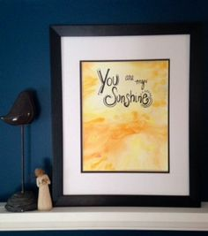 Original Watercolor Painting with Hand by worDSMITHstudios on Etsy, $14.00