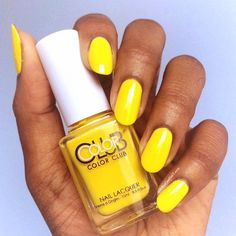 Color Club Yellin\' Yellow Nail Polish AN10 | Color Club Nail ...