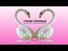 Big balloon swan, decoration, wedding, großer Ballon Schwan, Dekoration, Hchzeit - YouTube
