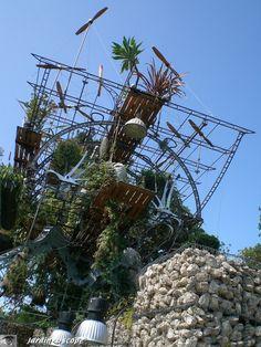 Réaction en chêne chaumont festival des jardins