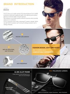fff3d792e3e Amazon.com  Duco Men s Sports Style Polarized Sunglasses Driver Glasses  2217 Black Frame Gray Lens  Clothing