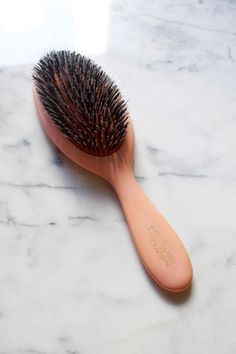 The cushioned boar and nylon bristles are what sets Mason Pearson brushes apart. http://beautyeditor.ca/2016/02/05/mason-pearson-brush