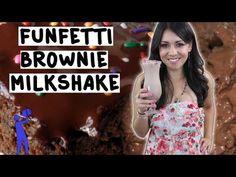 How to make a Funfetti Brownie Milkshake - Tipsy Bartender - YouTube