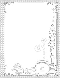 This will be so cool in my planner! I want to use this Book of Spells - Coloring Book of Shadows Witch Coloring Pages, Cute Coloring Pages, Adult Coloring Pages, Coloring Sheets, Coloring Books, Magick Spells, Wicca Witchcraft, Book Of Shadows, Painting