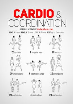 Cardio & Coordination Workout