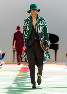 Burberry Prorsum Menswear Spring Summer 2015 Collection - Look 41