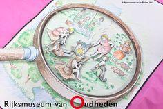Een kleurplaat wordt nóg leuker als hij in 3D is! Je kan nu zelf zo'n leuke 3D-kleurplaat maken met de kleurplaten van het Rijksmuseum van Oudheden. Klik op de afbeelding!