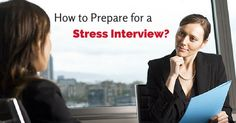 how #prepare for #stressinterview