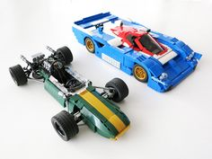 Awesome LEGO racing car collection!!! #lego #cars #f1 #racing