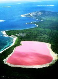 Le lac Hillier : une merveille de la nature en Australie