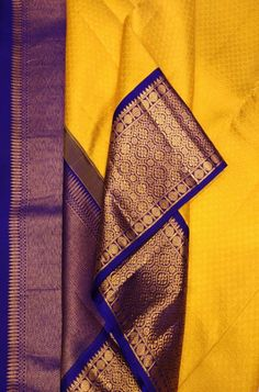 Online shopping from a great selection at Clothing & Accessories Store. South Indian Bride Saree, Indian Bridal Sarees, Wedding Silk Saree, Indian Silk Sarees, Soft Silk Sarees, Kanjivaram Sarees Silk, Kota Silk Saree, Kanchipuram Saree, Yellow Saree Silk