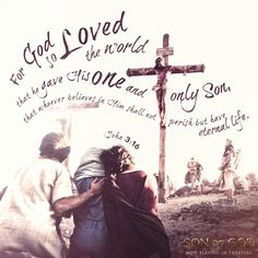 A sacrifice beyond compare. Live today, Good Friday, for the Son of God.