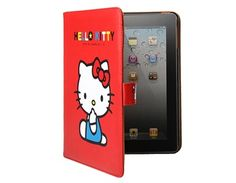 Kitty Smart Leather Protective Case for iPad 2