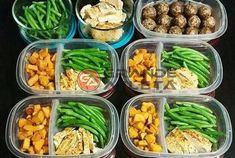 Prep Idea: Easy Breakfast, Lunch, Dinner Prep for beginners Meal Prep Snack Recipe: Pecan and Almond Cinnamon Spice Energy Balls Lunch Meal Prep, Healthy Meal Prep, Healthy Foods To Eat, Healthy Snacks, Healthy Eating, Healthy Cooking, Simple Meal Prep, Healthy Smoothies, Healthy Life