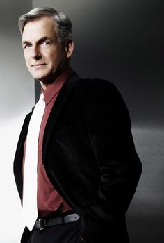 I know, a repeat, but who can resist? NCIS(Leroy Jethro Gibbs) Thomas Mark Harmon.マーク・ハーモンe
