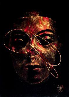 ArtAffair – Galerie für moderne Kunst | Ugo Dossi: Nefer mit Embryo, 200 x 150 cm