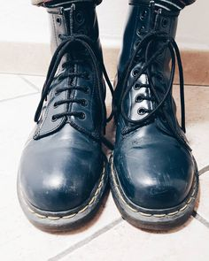Late for the D-Day #drmartens #blue #boots