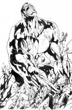 Hulk Smash Ink