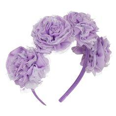 Carnation Headband Lilac   Vjera Vilicnik   Wolf & Badger