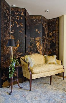 Asian - beautiful antique screen