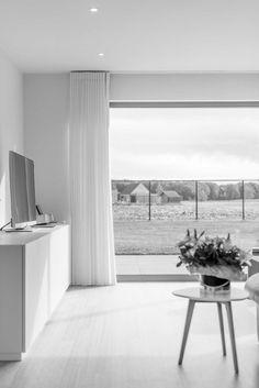 STAM architecten — Woning GOOS Open Plan, Windows, Patio, Plans, House, Arquitetura, Kitchen Bars, Houses, Interiors