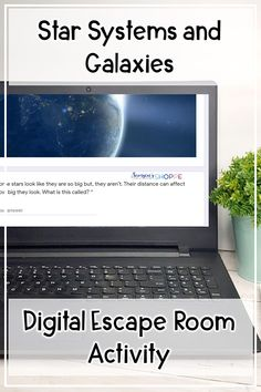 Stars   Galaxy   Review stars systems clusters and galaxies with your grade 5 6 7 students using this digital escape room activity. Students work collaboratively to answer questions about the characteristics life cycle of a star and different types of galaxy spiral elliptical and irregular. Also reviews open cluster binary stars high and low mass stars and apparent and absolute brightness. Upper Elementary Resources, Elementary Science, Types Of Galaxies, Binary Star, Star System, Science Student, Interactive Activities, Escape Room, Earth Science