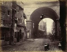The Cowgate Arch of George IV Bridge, Edinburgh