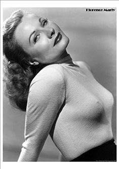 Florence Marly - Hollywood Screen Legend - Wonderful A4 Glossy Print by Vintage Portraits http://www.amazon.co.uk/dp/B016REQS4Y/ref=cm_sw_r_pi_dp_nvEiwb1CMR0NE CINTA