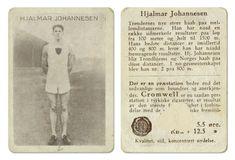 """Hjalmar """"Hjalle"""" Johannesen Freidig og Brage, Trondheim friidrett mellomdistanse"""