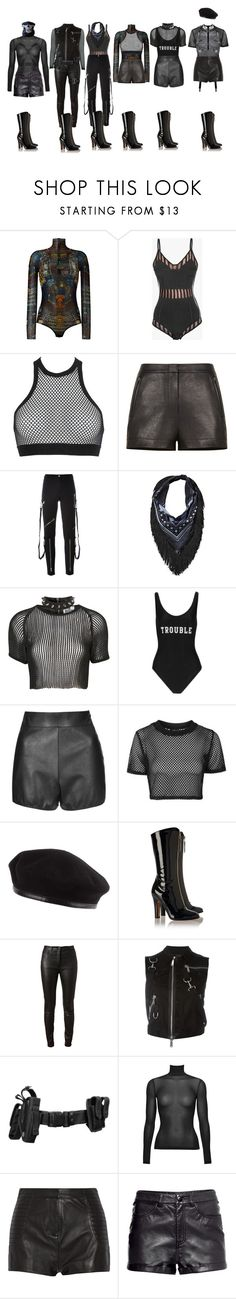 """""""DC_TRouble"""" by yonce4park ❤ liked on Polyvore featuring Dsquared2, Balmain, BCBGMAXAZRIA, Moschino, Witchery, The Ragged Priest, ADRIANA DEGREAS, Oh My Love, Topshop and Laulhere"""